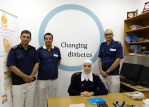 Nurse led diabetic foot clinic